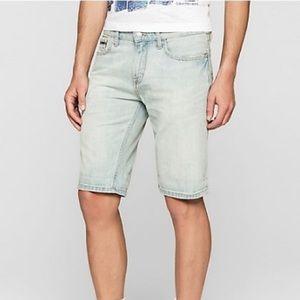 Men's Calvin Klein jeans slim fit jean shorts w30